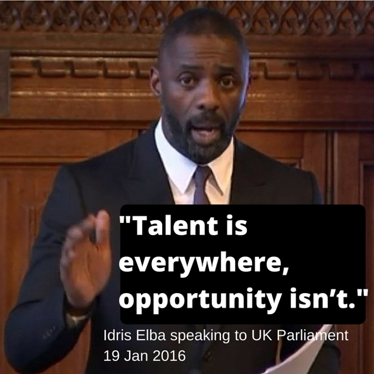 Talent is everywhere